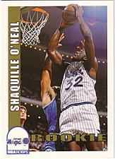 1992 Shaquille O'neil Hoops Rookie